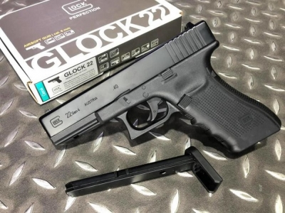 WG UMAREX GLOCK 22 G22 授權刻字 金屬滑套 CO2 直壓槍