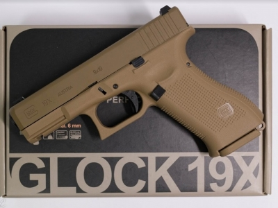 WG UMAREX GLOCK 19X / G19X 授權刻字 金屬滑套 直壓槍 CO2手槍