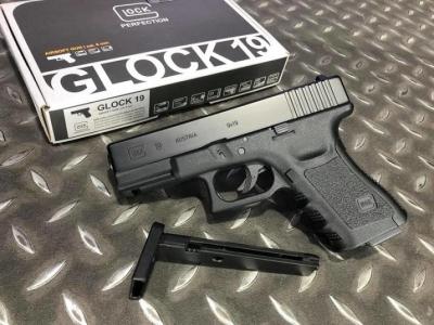 WG UMAREX GLOCK 19 / G19 授權刻字 金屬滑套 6MM CO2直壓槍