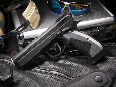 KJ SP-01 ACCU 黑鋼化版 CO2手槍 滑套可動/無彈後定