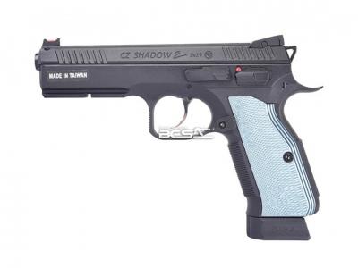 KJ CZ SHADOW2 授權刻字版 CNC滑套+全金屬材質 CO2槍