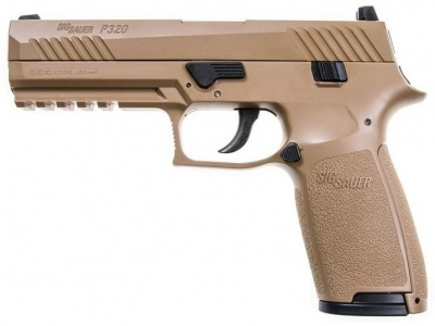 年度新品 Sig Sauer-P320 4.5mm/.177 CO2手槍 沙色