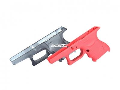 KJ G27瓦斯槍下槍身專用 操作槍需修整(透明、粉紅)