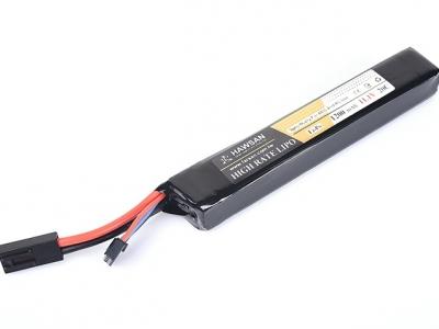 FS 華山 11.1V 1200mAh 15C 3S口香糖(長版)鋰電池For M4後托