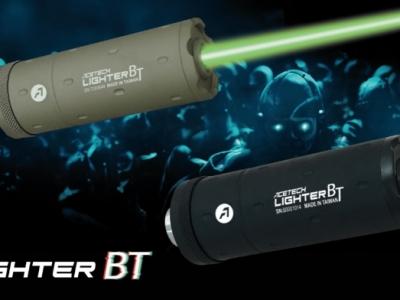 ACETECH Lighter BT 黑/沙 夜光彈發光器 夜戰滅音管型 APP附測速功能